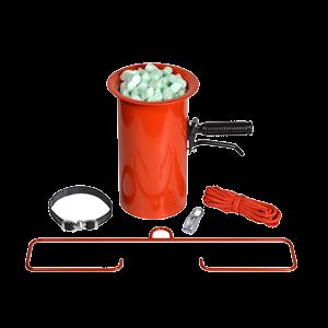 Sackaufhängevorrichtung für Verpackungschips