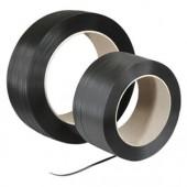 Polypropylen-Umreifungsband schwarz geprägt