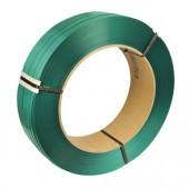 Nastro di reggiatura in poliestere imprimato verde