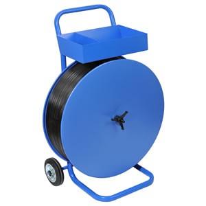 Charriot-dérouleur transportable