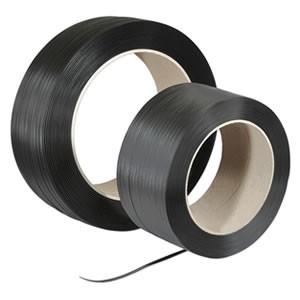 Ruban de cerclage PP imprimé noir
