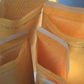 Pochettes à bulles d'air en papier FSC
