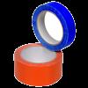 Ruban autocollant PVC solvant couleur